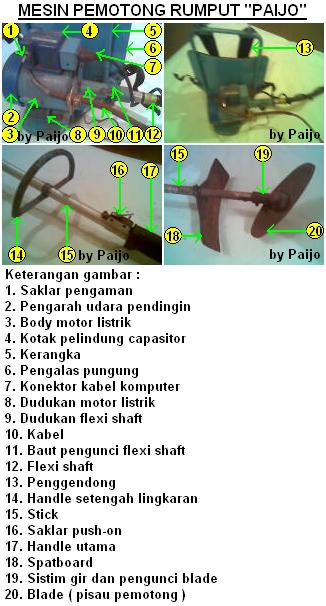 Pemotong Rumput Paijo Paijo